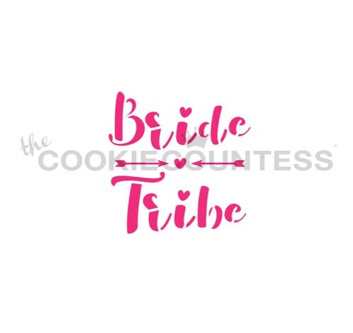 Bride Tribe Cookie Stencil