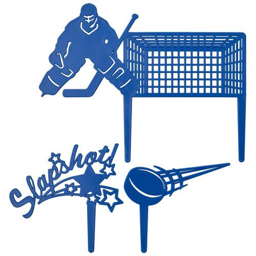 Hockey Cake Topper (3 pc)