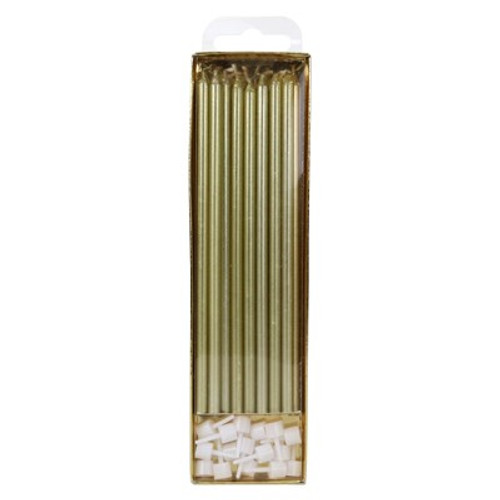 Gold Candles Extra Tall (16 pc)