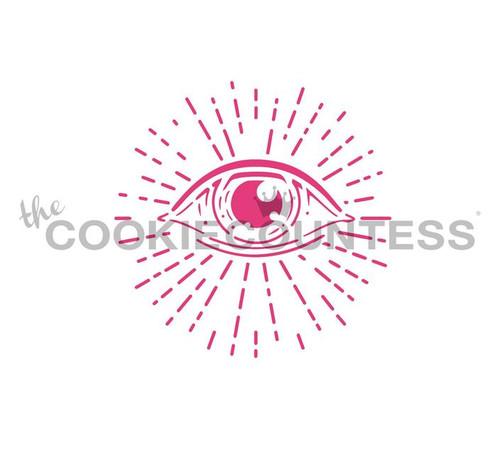 Magic Eye Cookie Stencil