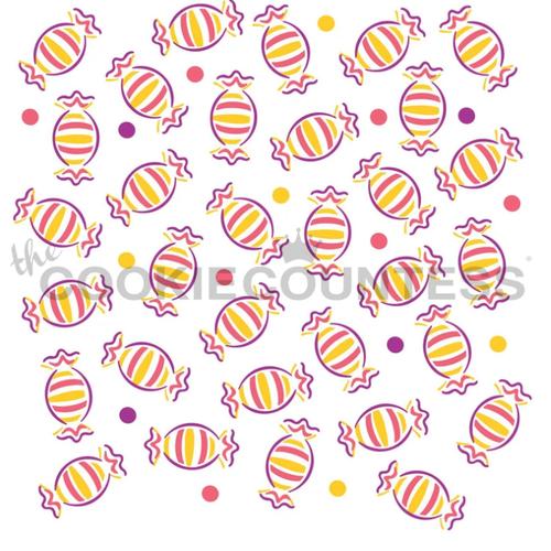 Candy Cookie Stencil (3 pc)