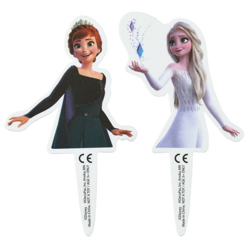 Frozen 2 Cake or Cupcake Toppers (6 pc)