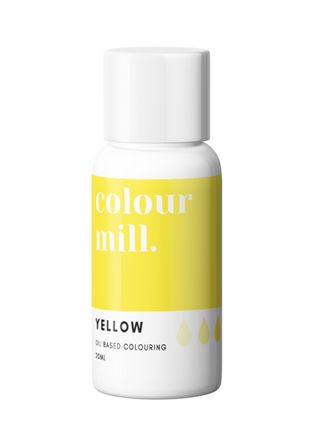 Colour Mill Yellow Oil Based Colouring 20ml
