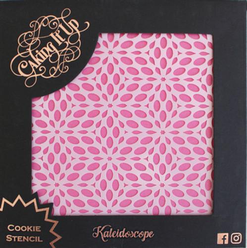 Kaleidoscope Cookie Stencil
