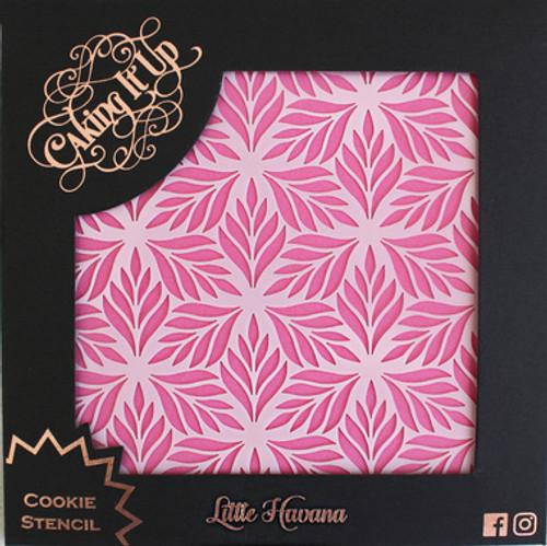 Little Havana Cookie Stencil