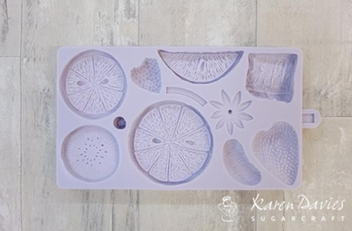 Tropical Fruit Silicone Mold