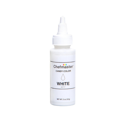 Chefmaster White Candy Color 2oz