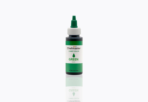 Chefmaster Green Candy Color 2oz