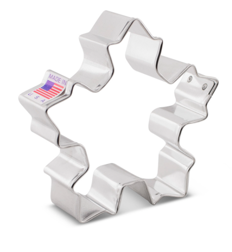 """Snowflake Festive 3.25"""" Cookie Cutter"""