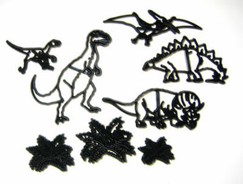 Animal Dinosaur Set Patchwork Cutters ( 8 pc )