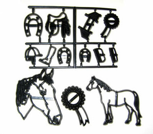 Animal Horse Patchwork Cutters ( 13 pc )