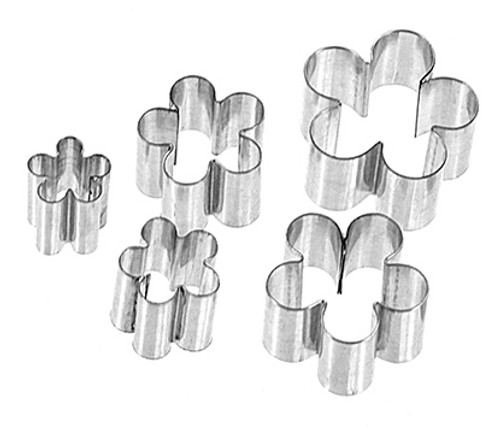 Blossom Gumpaste Cutters Assorted Sizes