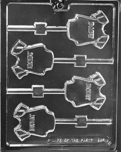 Baby Onesie Chocolate Mold Lolly