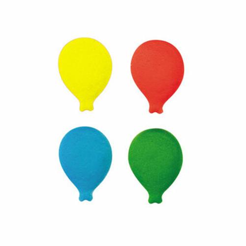 Balloons Individual Pressed Sugar ( 12 pc )