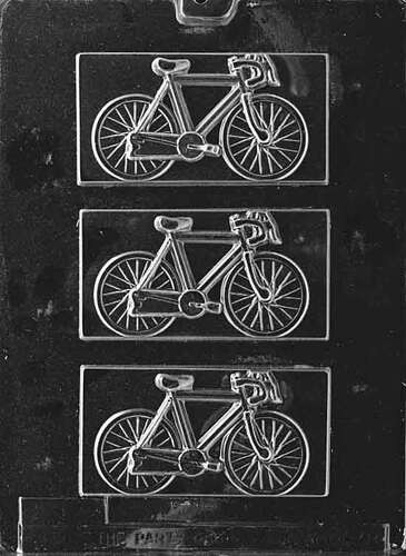 Bicycle Plaque Chocolate Mold