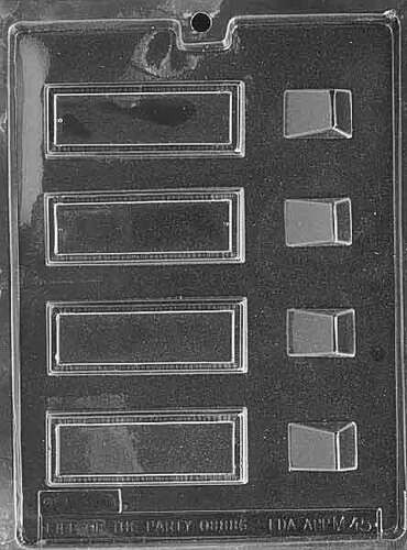 Place Card Rectangle Chocolate Mold
