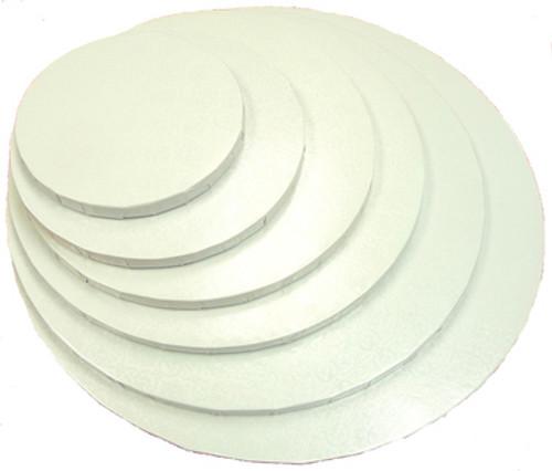 Cake Boards White - Round Thick ( Drum )