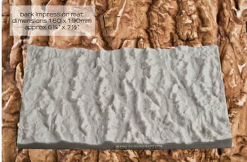 Bark Large Silicone Mold