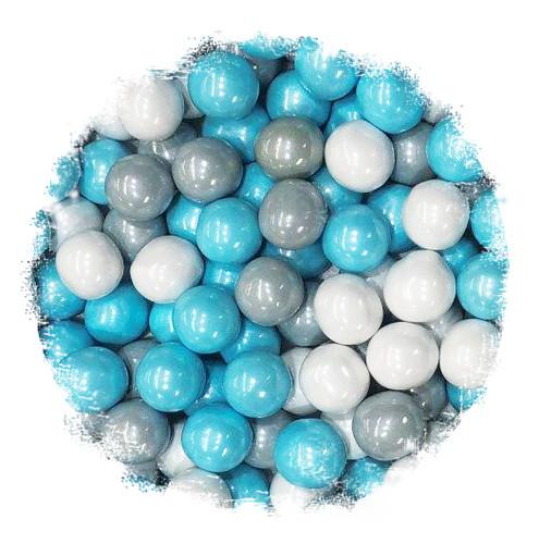 Snowflake Mix Sixlets Bulk
