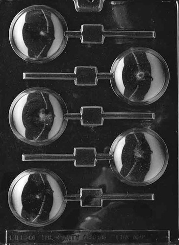 Rounded Lolly Chocolate Mold