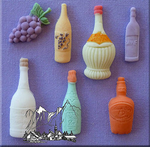 Assorted Bottles Silicone Mold