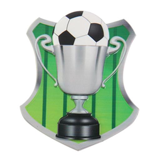 Soccer Cake Plaque Topper