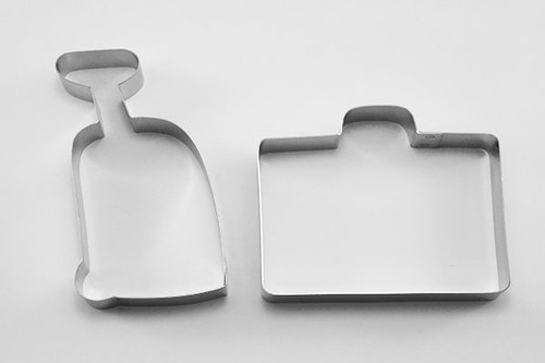 Travel Suitcases Cookie Cutters