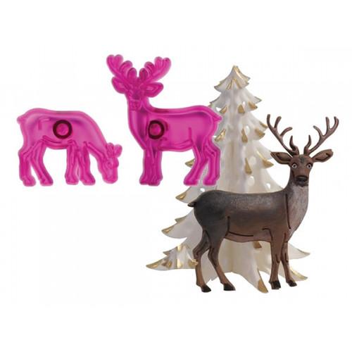 Reindeer Cutter Set ( JEM )