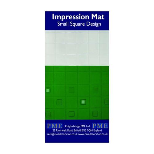 Square Small Impression Mat