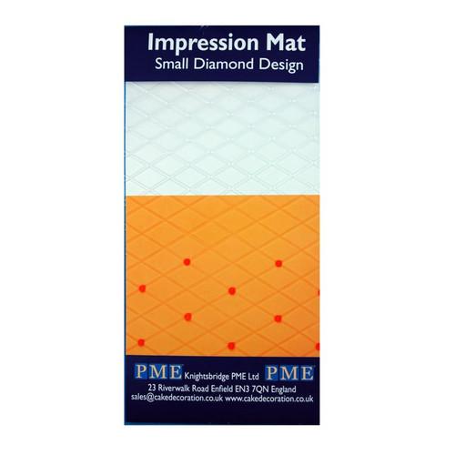 Diamond Small Impression Mat