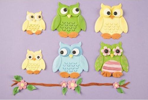 Owl Patchwork Cutter Set
