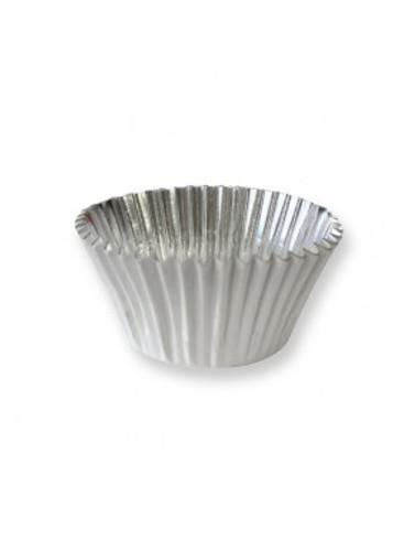 White foil Cupcake Liner