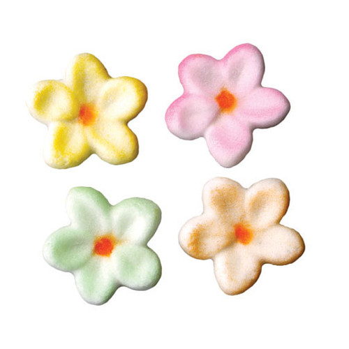 Small Flowers Molded Sugars