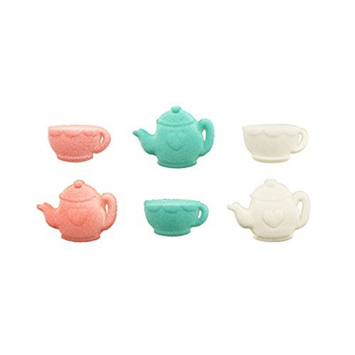 Tea Party Pressed Sugar ( 12 pc )