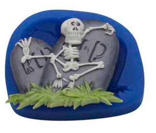 Skeleton & Tombstones Silicone Mold