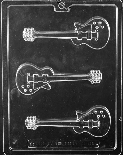 Electric Guitar Chocolate Mold
