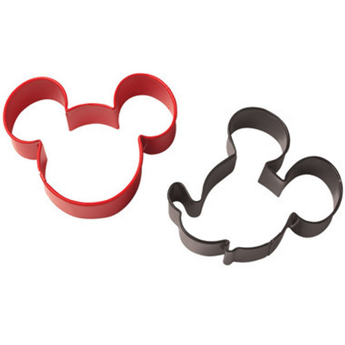 Mickey Mouse Cookie Cutters ( 2 pc )