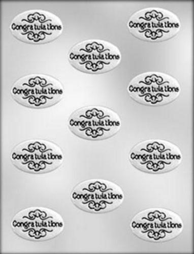 Congratulations Chocolate Mold