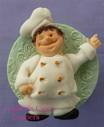 Chef Silicone Mold
