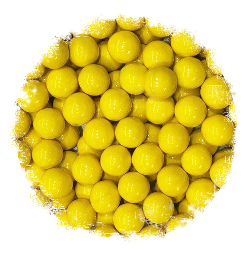 Yellow Sixlets Candy