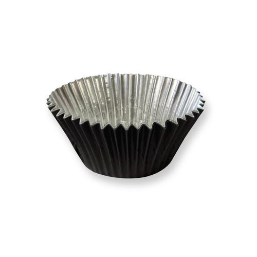 Black Foil Cupcake Liner / Baking cup