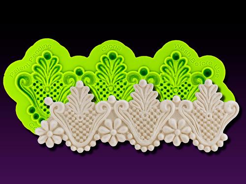 Gloria Enhanced Lace Silicone Mold