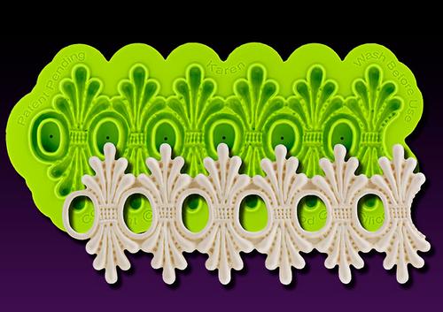Karen Enhanced Lace Silicone Mold