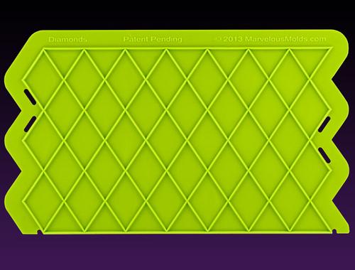 Diamonds Silicone Onlay Mold