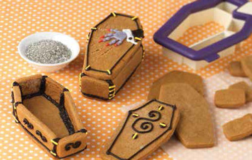 Vampire Coffin Cookie Cutter 3D