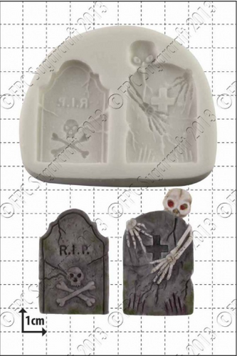 Tombstones Silicone Mold