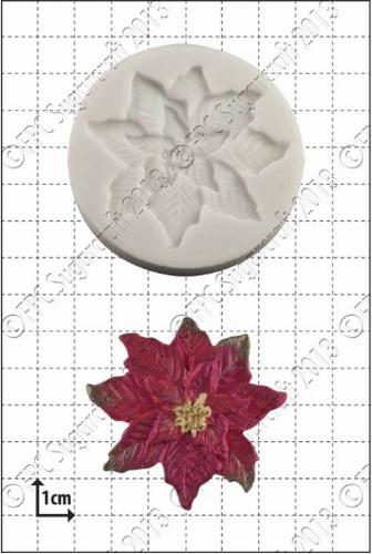 Poinsettia Silicone Mold