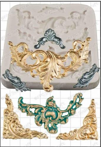 Baroque Silicone Mold