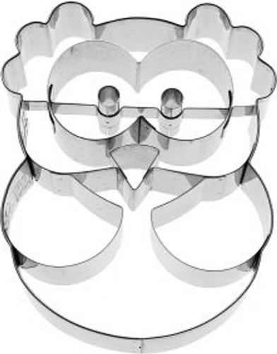 Alva the Owl Impression Cookie Cutter