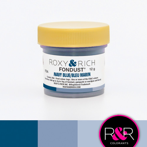 Navy Blue Fondust 12 grams